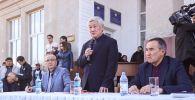 Вице-премьер Бердібек Сапарбаев  Сортөбе, Масанчи, Ауқатты  және Қаракемер ауылдарының тұрғындарымен кездесті