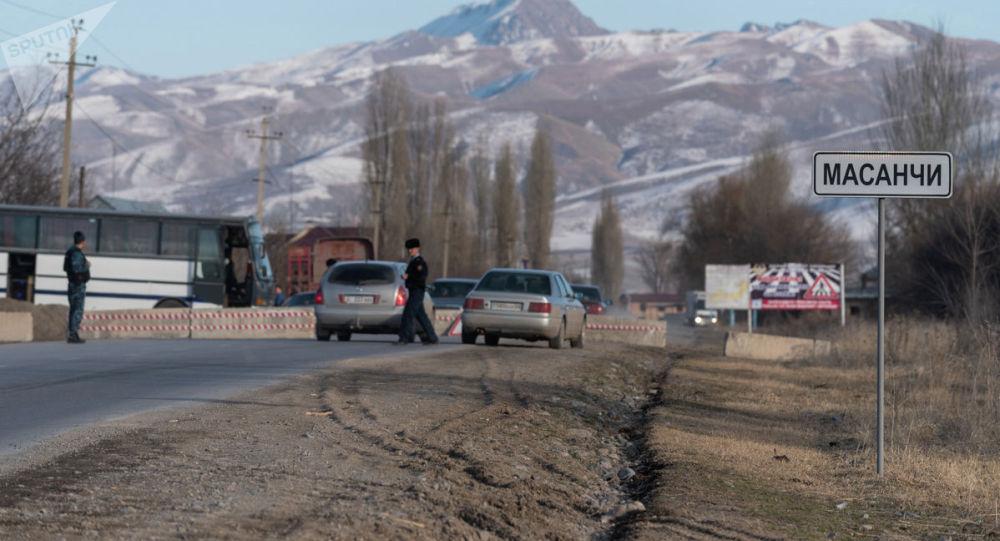Поселок Масанчи на юге Казахстана