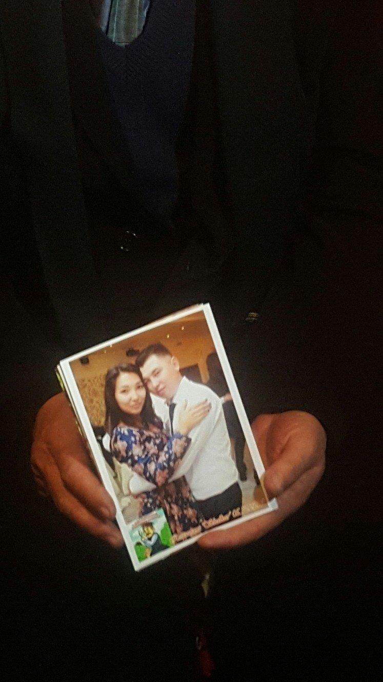 Фото Дархана Еламанова с женой