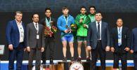 Тяжелоатлет Игорь Сон принес первое золото на международном Чемпионате солидарности