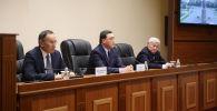 Глава правительства Аскар Мамин представил нового акима Жамбылской области Бердибека Сапарбаева