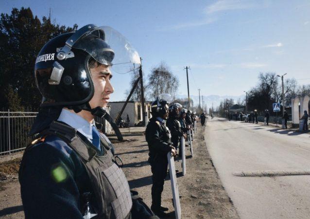 Полицейские в Кордае