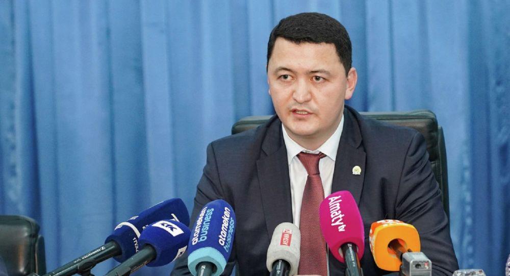 Вице-министр здравоохранения Камалжан Надыров