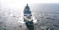 Россия испытала новейший фрегат Адмирал Касатонов - видео