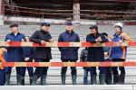 Премьер-министр Аскар Мамин проинспектировал ход строительства инфраструктуры Туркестана