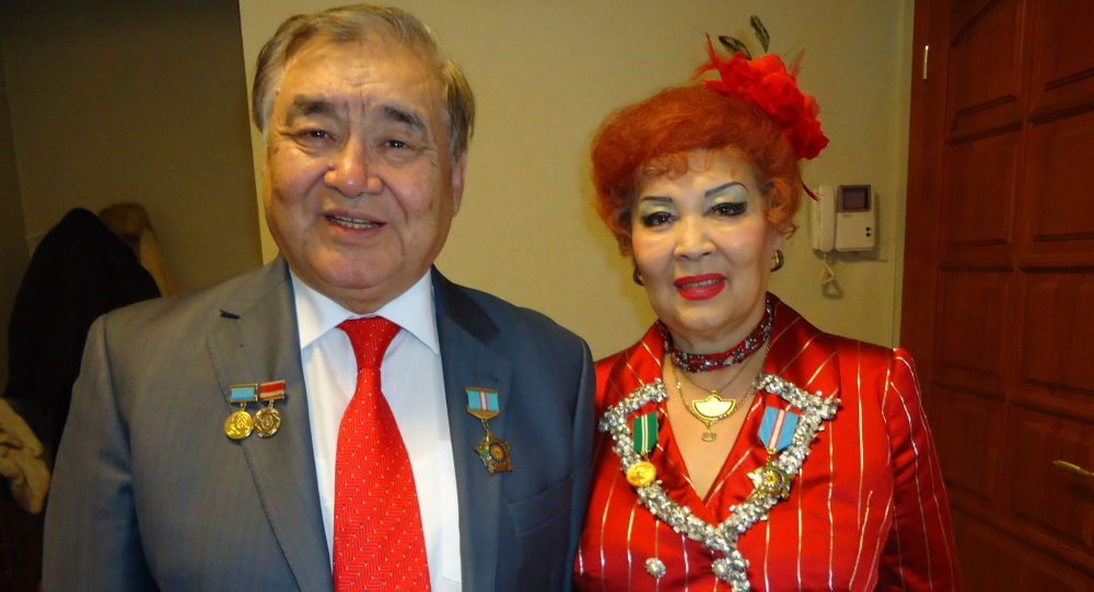 Ескендір Хасанғалиев пен Дарико Хасанғалиева