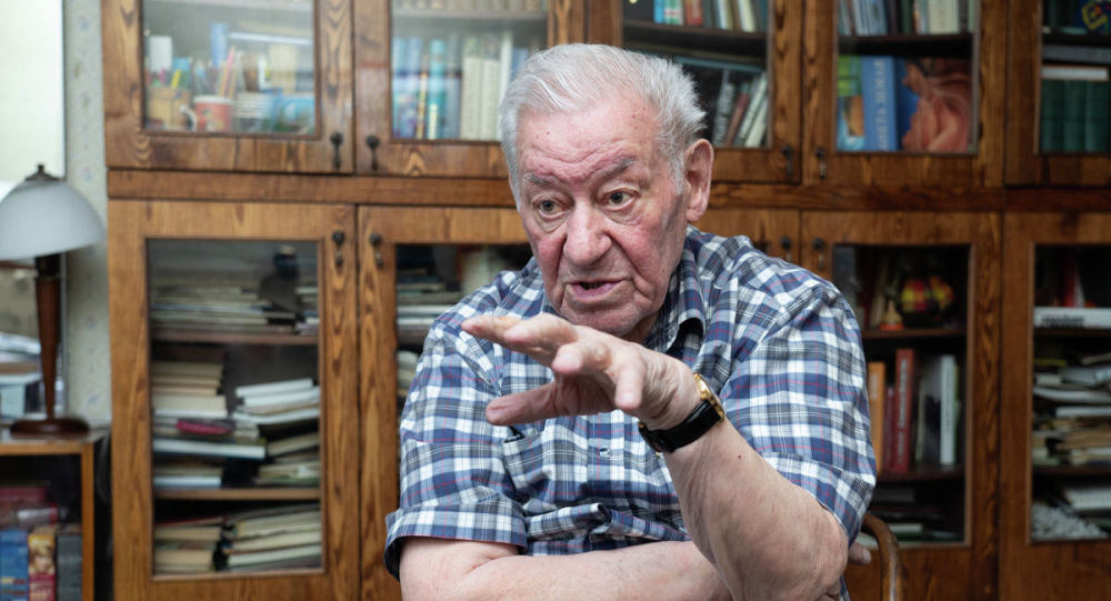 Ветеран ВОВ Леонид Гирш