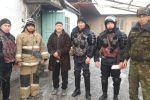 Возгорание дома в Сортобе