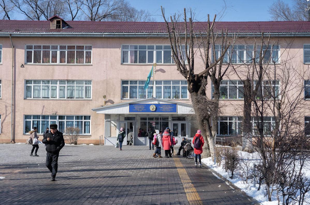 Общеобразовательная школа в микрорайоне Заря Востока