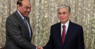 Встреча Токаева с премьер-министром Кувейта