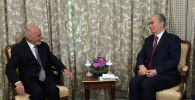 Встреча Токаева с президентом Афганистана