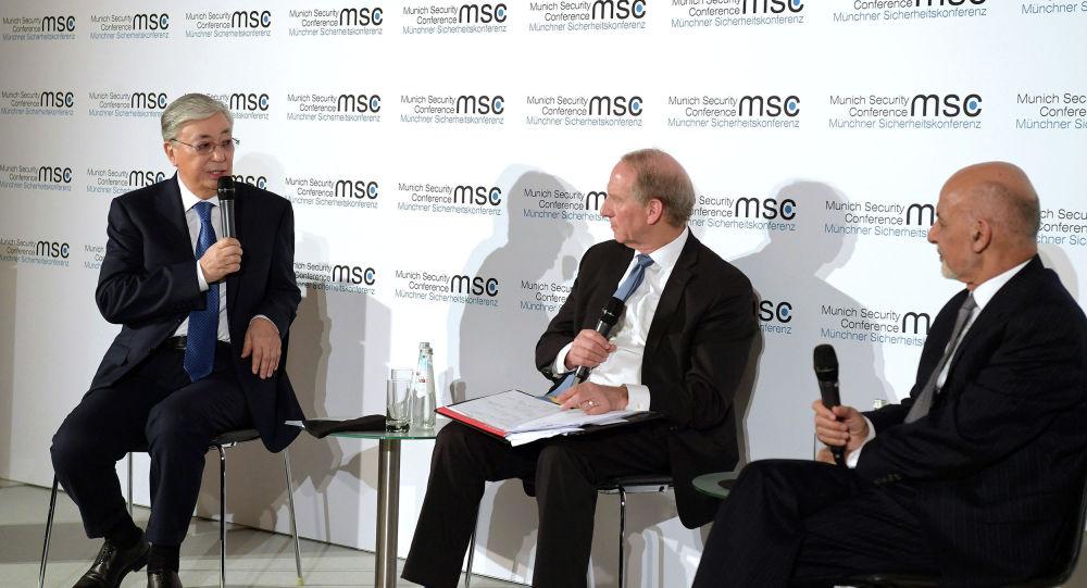 Президент Казахстана Касым-Жомарт Токаев принял участие в обсуждении ситуации в Центральной Азии на Мюнхенской конференции по безопасности