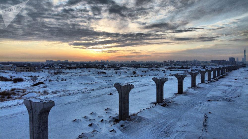 Опоры Astana LRT