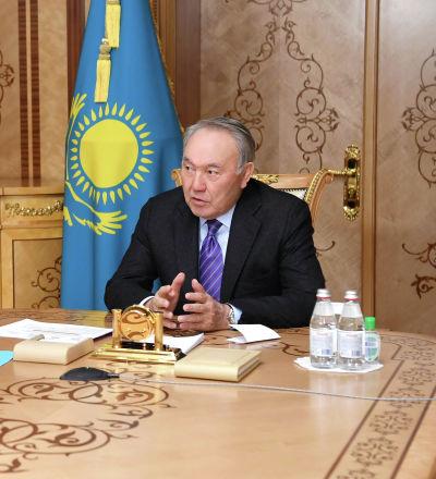 Назарбаев жаңа қызметіне кіріскен Тоғжановты қабылдады