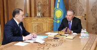 Нурсултан Назарбаев встретился с заместителем премьер-министра Казахстана Ералы Тугжановым