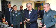 Президент Казахстана Касым-Жомарт Токаев посетил штаб-квартиру Главного разведывательного управления Вооруженных сил
