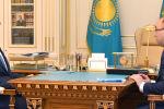 Қасым-Жомарт Тоқаев пен Дәурен Абаев
