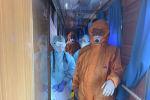 Тренировочные учения на случай выявления больного с подозрением на коронавирус