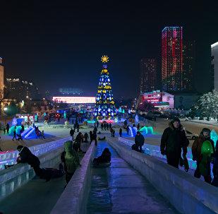 Новогодняя Астана-2017