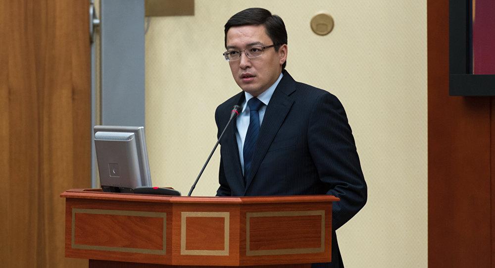 Председатель Национального банка Казахстана Данияр Акишев