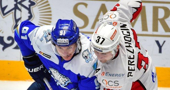 ХК «Нефтехимик» обыграл «Барыс» вматче Кубка президента Казахстана