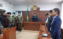 Оглашение приговора по делу об убийстве егеря Ерлана Нургалиева