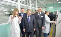 Делегация ФНБ Самрук-Казына побывала на заводах в Северо-Казахстанской области