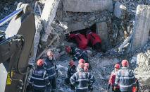 Последствия землетрясения в Турции, архивное фото