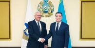 Премьер-министр принял главу Коллегии ЕЭК Мясниковича