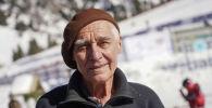78-летний плотник с Чимбулака Николай Гаврилко