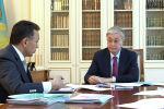 Токаев принял председателя правления КТЖ