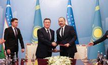 Премьер-министр Асқар Мамин Өзбекстан үкімет басшысы Абдулла Ариповпен келіссөз өткізді