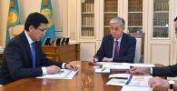 Глава государства принял министра образования и науки Асхата Аймагамбетова