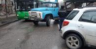 Столкновение автомобилей на Сатпаева