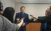 Заместитель прокурора города Нур-Султан Елдос Килымжанов