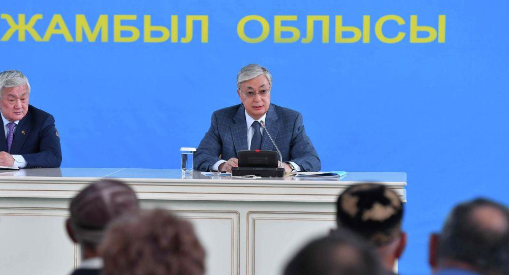 Президент Қордайға барды