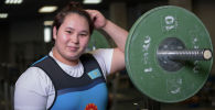 Айсамал Сансызбаева. Тяжелоатлеты девушки. Юношеская сборная