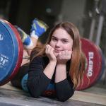 Алина Колиушко. Тяжелоатлеты девушки. Юношеская сборная