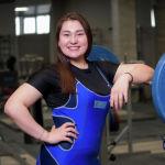 Мира Ахметова. Тяжелоатлеты девушки. Юношеская сборная