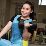 Нурай Курманбай. Тяжелоатлеты девушки. Юношеская сборная