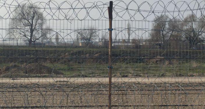 Магистраль для перекачки ГСМ через границу между Казахстаном и Кыргызстаном