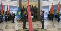 Руководству Военно-исторического музея Вооруженных сил торжественно вручили копию Знамени Победы