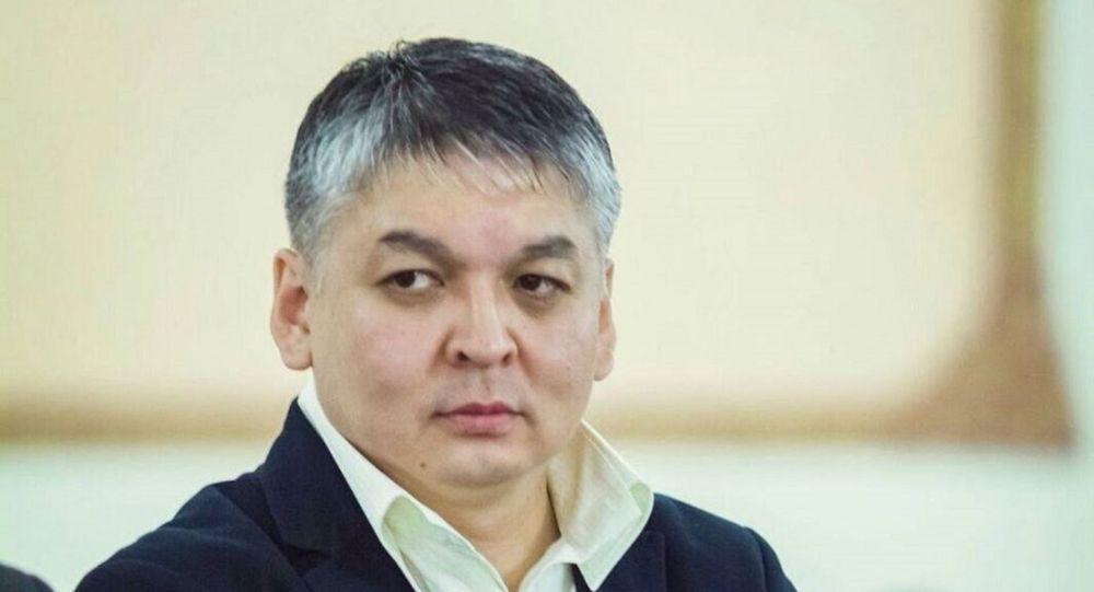 Официальный представитель министерства здравоохранения Казахстана Диас Ахметшарип