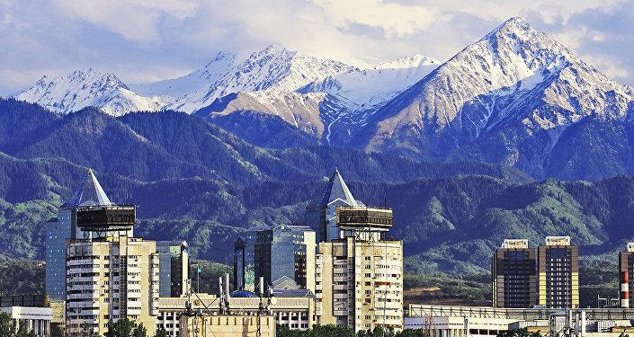 Виды Алматы. Архивное фото