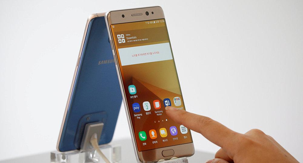 Galaxy Note 7. Архивное фото