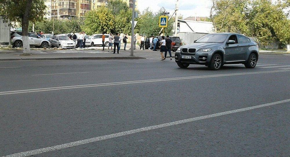 Астана жол талғамайтын көліктің қатысуымен болған ЖКО