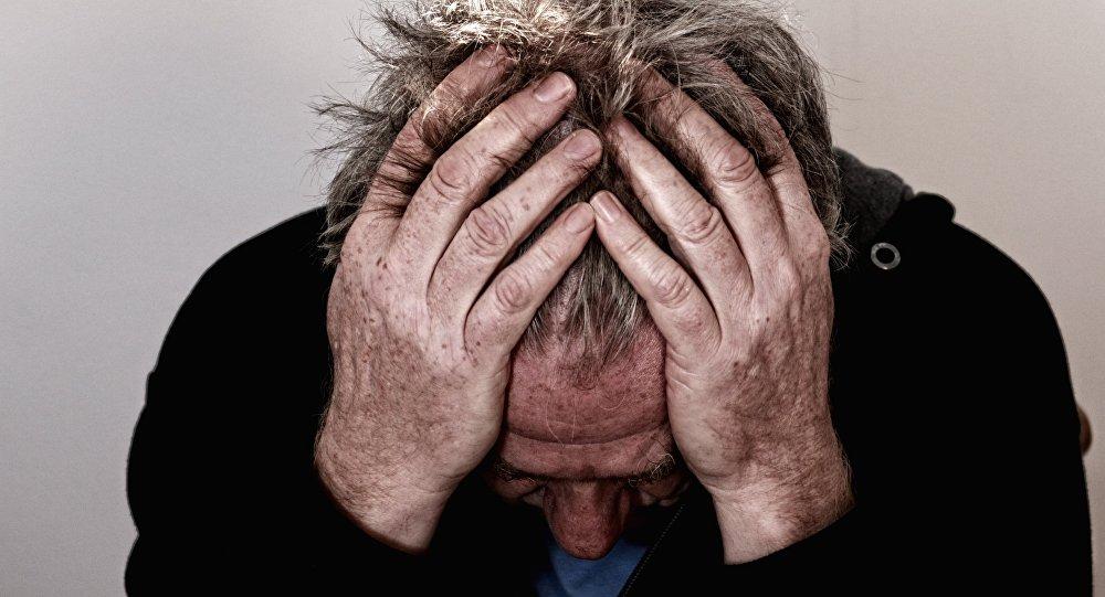 Стресс, отчаяние. Иллюстративное фото