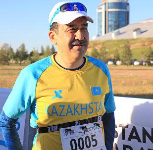 Карим Масимов на Благотворительном Астана-Марафоне