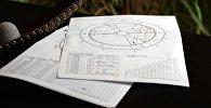 астрология, гороскоп, натальная карта