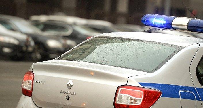 Полицей көлігінің архивтегі фотосы